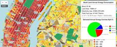 Map of NYC's energy consumption by zip code