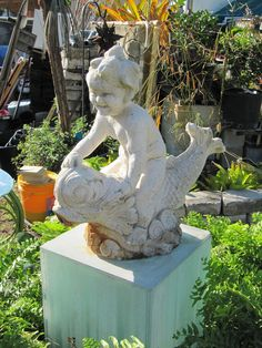 my life on the e-list: the sofl snapshots: aqua cherub