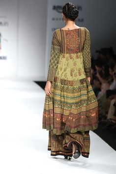 In New Delhi, India. Fashion Week 2015, Lakme Fashion Week, India Fashion, Fashion Weeks, Indian Attire, Indian Wear, Indian Dresses, Indian Outfits, Kalamkari Dresses