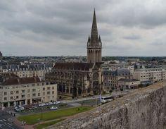 Caen es la capital de la región de Baja Normandía #Caen #Normandía #France #Francia