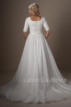Modest Wedding Dresses : Lanister. Latter Day Bride, Gateway Bridal & Prom
