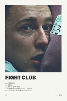 Fight Club alternative movie poster