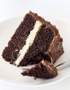 """fullcravings:  """"Salted Caramel Chocolate Cake  """""""