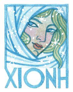 Khione, the Greek Goddess of Snow