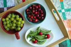 fruit & veggie snacks for the summer!