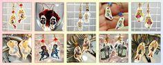 Chibi Earrings by ~thedustyphoenix on deviantART