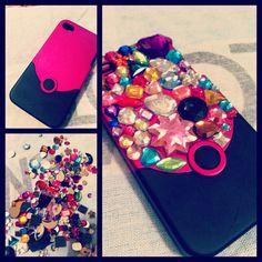Hot glue phone case!!! #DIY