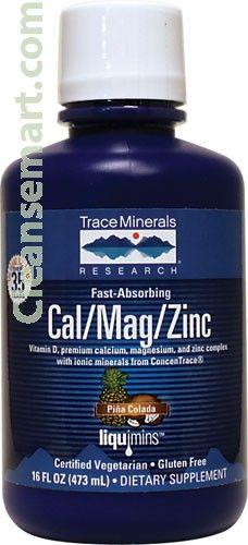 calcium magnesium zinc combination | calcium magnesium liquid form Magnesium And Migraines, Calcium Magnesium, Calcium Supplements, Pina Colada, Minerals