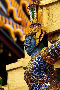 Grand Palace, Bangkok, Thailand   by Stuart Robertson