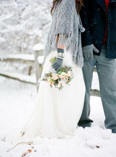 Winter wedding photo ideas   photography by www.lauraivanova.com   www.msp-photography.com/   www.mthreestudio.com/