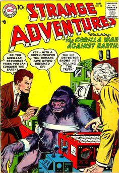 Comic Book Covers » Gorillas part 3