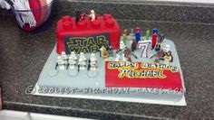 Cool Star Wars Lego Cake... Coolest Birthday Cake Ideas  because its Star Wars and Lego!