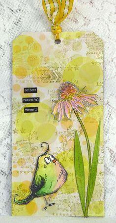 Hello Flower by Fliss Goodwin | That's Blogging Crafty! (Pin#1: Bird Crazy...).