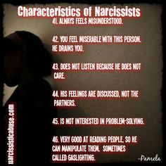 You narcissist a signs are 19 Signs