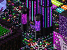 Futuristic KL town by Accuracy0.deviantart.com on @deviantART