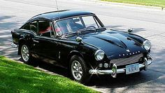 Triumph almost identical to one I completely rebuilt from a box of restored parts I bought in westerville ohio in 1977 Vintage Sports Cars, British Sports Cars, Classic Sports Cars, Vintage Cars, Classic Cars, Triumph Gt6, Triumph Motor, Triumph Spitfire, My Dream Car