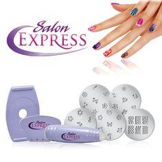 Tırnak Süsleme Seti Salon Express