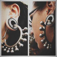 Our Ebony Inlay Eyelets! #tawapa #plugs #piercing