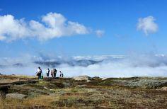 View over Mt Kosciuszko - the top of Australia.
