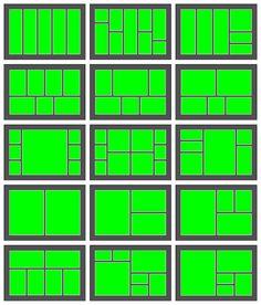Resultado de imagen para project life layouts 8.5 x 11
