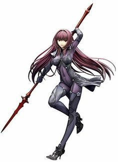 """Buy Scathach (Lancer) - PVC Figure at Mighty Ape NZ. From """"Fate/Grand Order"""" comes an incredible scale figure of the Lancer-class Servant, Scathach! From """"Fate/Grand Order"""" comes an incredible s. Fate Grand Order Lancer, Anime Dvd, Mighty Ape, Manga Books, Anime Figures, Fate Stay Night, Manga Comics, Comic Art, The Incredibles"""