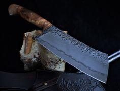 Custon handmade Peremský knife Kitchen Knives, Weapons, Blade, Edc, Sword, Hobbies, Handmade, Knives, Knife Making