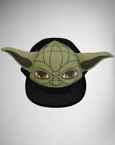 Yoda with Ears Toddler Flatbill Hat