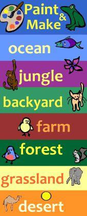 Kid s corner animal games for kids kids educational games kids