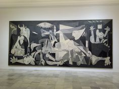 Guernica-Picasso  Must see one day.