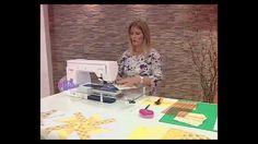 Carolina Rizzi - Bienvenidas TV - Arma una Manta con Molinetes en Patchw...