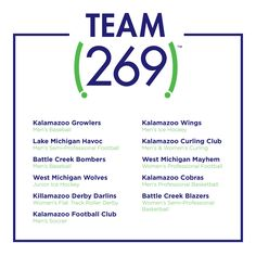 Team 269 Michigan Hockey, Lake Michigan, Professional Football, Professional Women, Women's Curling, Off The Map, Roller Derby, Ice Hockey, Things To Do