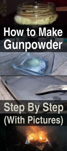 The basic mix of gunpowder is universal and made of three main ingredients. It's merely a matter of finding them and mixing them.