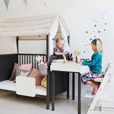 Stokke® Home™, makes their bedroom a magical place to play & learn