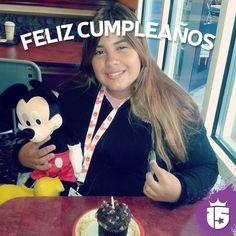 Feliz cumple Magalí!! Que tengas un cumple maravilloso con el grupo #doradoF16 & #enjoy15!