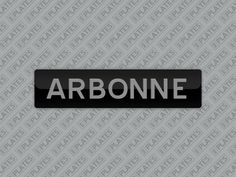 My ARBONNE number plates are for sale on MrPlates.