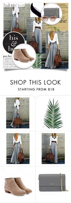 """nude"" by dina-97 ❤ liked on Polyvore featuring Nika and DKNY"