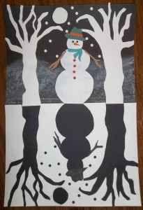 Best Snowman Crafts Ideas modify for la lune est tombee dans l'eau