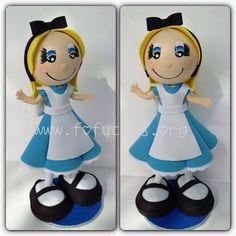 Alice In Wonderland Fofucha Doll on Etsy, $27.00  #AliceInWonderland #kidsbirthday #birthdaycenterpiece
