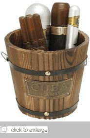 Cuba Gold Bucket Fragrance For Men Gift Set