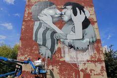 Street Art by Claudio Ethos. Showing at 19 KAREN in March 2013.