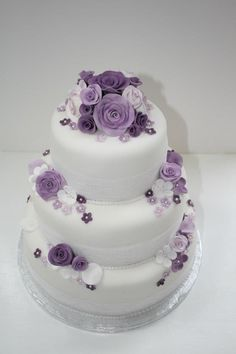 Vintage rose purple wedding cake by mcquilli vanilli http://m.facebook.com/photo.php?fbid=378014135584380=169145163137946=a.378014115584382.102986.169145163137946=17