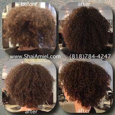 Hair by Shai Amiel Curl Doctor www.ShaiAmiel.com www.Twitter.com/ShaiAmiel #DevaCurl #DevaCut
