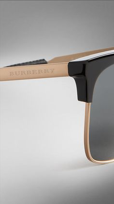 be59032e4a0 Black Trench Collection Square Frame Sunglasses - Image 5 Sunglass Frames