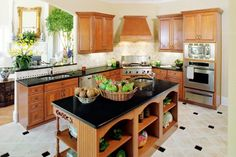 kitchen cabinets design ideas design ideas for small kitchens kitchen design ideas on a budget #Kitchen