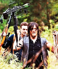 "Daryl & Aaron 5x13 ""Forget"""