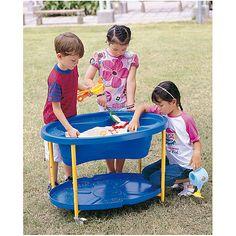 Sand-/Wassertisch, blau   KT2001-00B / EAN:4260081542059