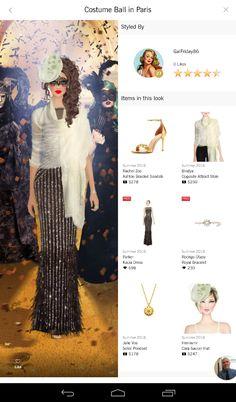Covet Fashion: Costume Ball in Paris