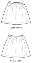 Digital Everyday Skirt Sewing Pattern | Sewing Pattern Shop | Oliver + S