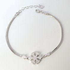 NEW! bratara argint cu fulg de nea Bracelet Making, Silver Bracelets, Unique, Jewelry, Silver Cuff Bracelets, Jewellery Making, Jewelery, Making Bracelets, Jewlery