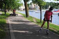 Lake Harriet trail, Minneapolis, Minnesota - this was the way I went to school at Southwest High School